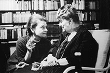 Alma and Anna Mahler (1961)