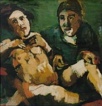 Kokoschka with Puppet